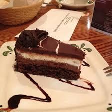 Black Tie Mousse Cake Olive Garden Italian Restaurant View