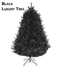 Artificial Black Luxury Christmas Tree