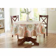 Blue Medallion Curtains Walmart by Better Homes And Gardens Lace Medallion Tablecloth Walmart Com