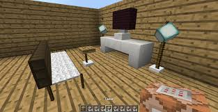vanilla furniture decorate your home with command blocks