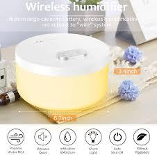 luftbefeuchter schlafzimmer vintoney 1000 ml dual spray usb