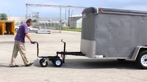 Electric Powered Trailer Dolly By Overland Carts - YouTube