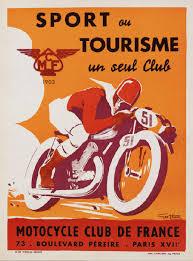 Geo Ham Moto Sport Poster