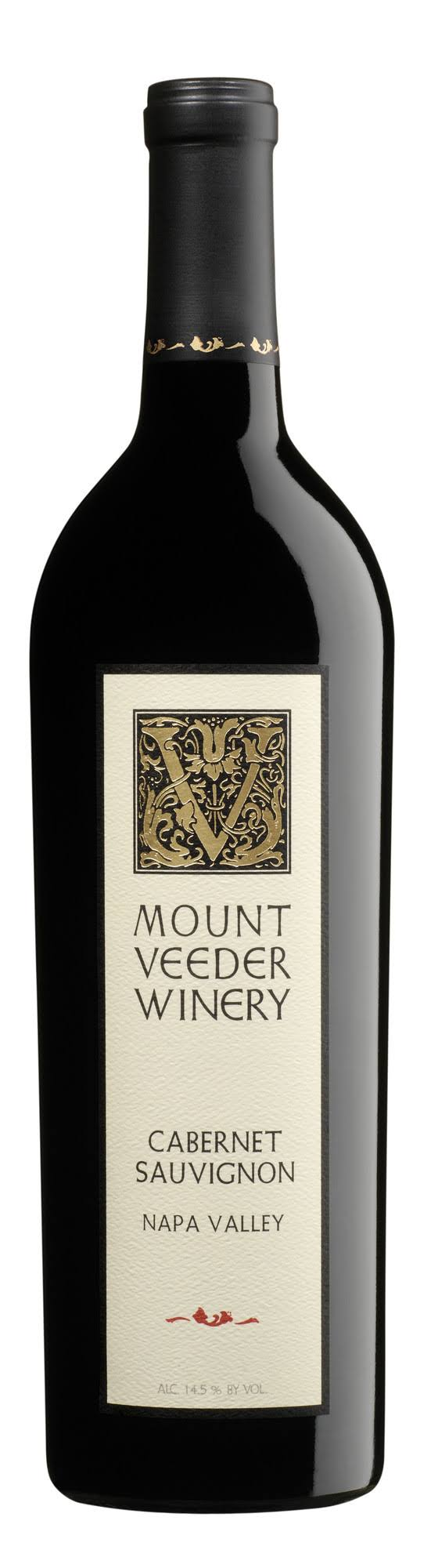 Mount Veeder Winery Napa Valley Cabernet Sauvignon Wine - 750ml