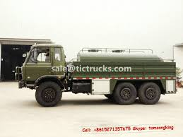 100 Water Tanker Truck Dongfeng 6x6 Water Tanker Truck With Fire Pump TIC TRUCKS Www