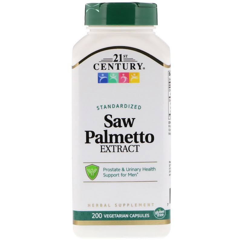 21st Century Saw Palmetto Extract Supplement - 200ct