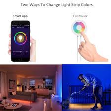 lombex smart wifi led light color changing rgb light