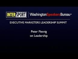 washington speakers bureau flesvig on leadership