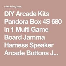 DIY Arcade Kits Pandora Box 4S 680 In 1 Multi Game Board Jamma Harness Speaker Sorry RulesGame