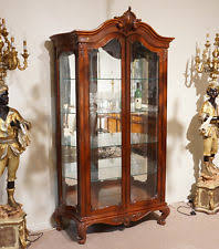 contemporary reproduction antique display cabinets ebay