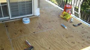 Balcony Flooring Waterproof Waterproofing Wonderful How To Floor 6 Options