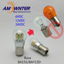 amywnter sale 1157 dual intensity 6v p21w led bulb bay15d p21
