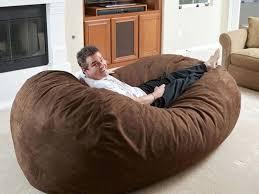 Big Fluffy Bean Bag Ben Bg White