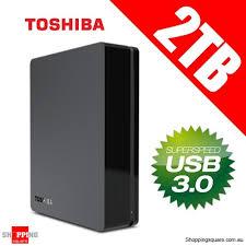 toshiba canvio 2tb usb 3 0 3 5 external hard disk drive black