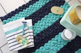 Extra Large Bath Rugs Uk by Chunky Woven Bath Mat Diy U2013 A Beautiful Mess