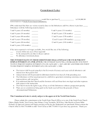 Mortgage mitment Letter