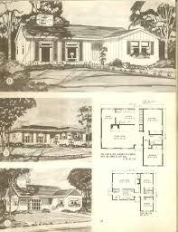 Harmonious Houses Design Plans by 347 Best Vintage House Plans 1940s Images On Vintage