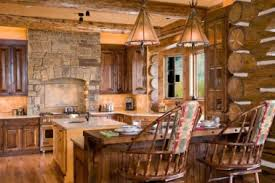 Rustic Log Cabin Kitchen Ideas by 35 Simple Country Kitchen Designs Log Cabin Kitchen Nice Looking