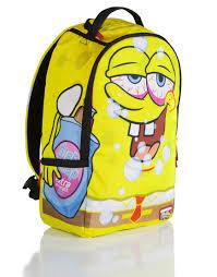 sprayground x spongebob party pants backpack sprayground