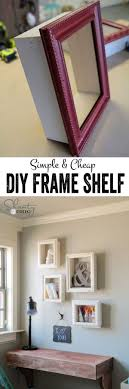 DIY Frames For Wall Decor Turn The Simple From Local Thrift Store Into These Expensive By Attaching Wood To All Sides And Hang On