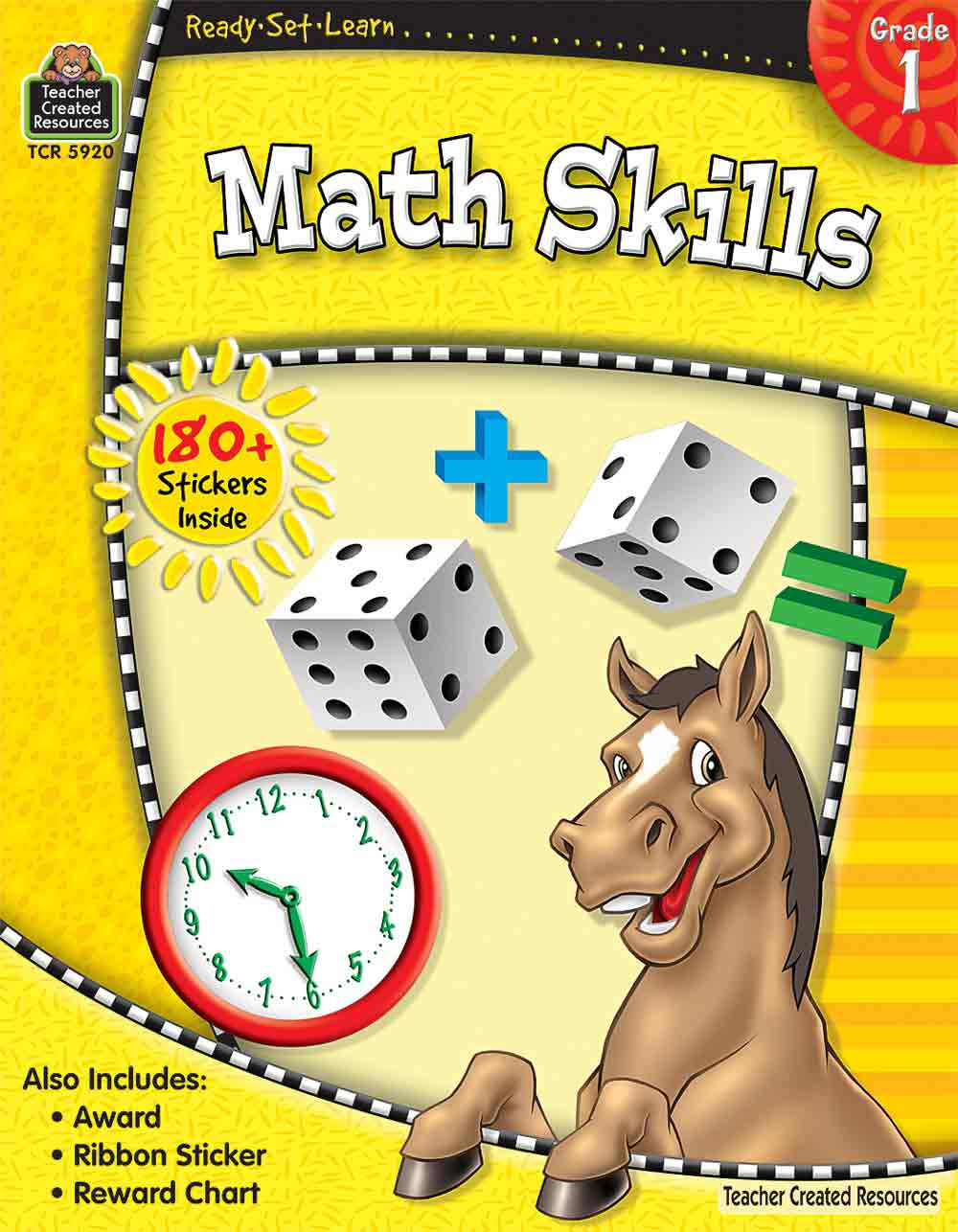 Ready-Set-Learn: Math Skills Grade 1 - Teacher Created Resources
