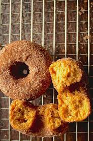 Dunkin Donuts Pumpkin Donut Recipe by Warm And Spicy Baked Pumpkin Donuts Andie Mitchell