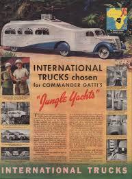 100 Vintage International Harvester Truck Parts 1939 Jungle Yachts Sales Brochure