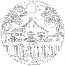 Embroidery Pattern 823 Design B
