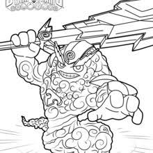 Fling Kong Thunder Bolt Coloring Page