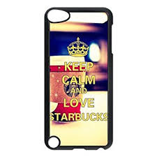 Keep Calm And Love Starbucks IPod Touch 5th Generation Case 5 Custom Durable Cover