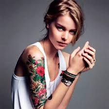 Famous Women Arm Tattoo Gala