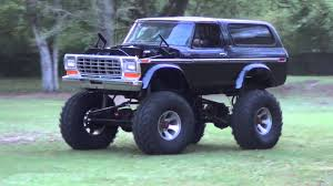 Old Ford Bronco As A Monster Truck Is The Best Thing Ever