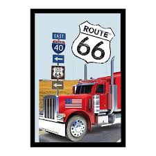Route 66 Mirror Truck - Printed Mirrors Buy Now In The Shop Close Up ... Big Truck Mirrors Unique New 2018 Ram 2500 Power Wagon Crew Cab 4x4 1997 Intertional Truck Door Mirror For Sale Council Bluffs Ia Volvo Vnl Stock Tag351156 Tpi Automotive And Accsories Primary 1 Pair 4 Inch Car Blind Spot Hot Rearview Chevy A More Perfect Union Rod Network 1986 9300 Side View Hudson Co Tripod Used Dodge Exterior Freightliner Radiators
