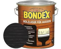 bondex holzlasur ebenholz 4 l