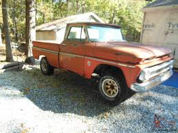 100 1964 Chevy Truck Chevy Pickup C10 Shortbed Fleetside Highly Optioned