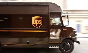 100 Ups Truck Toy UPS Driver Adopts Shelter Dog Who Jumped Into His PEOPLEcom