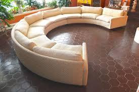 milo baughman for thayer coggin circular sectional sofa at 1stdibs