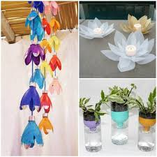 Plastic Bottle Decoration DIY Projects