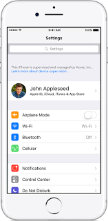 Get started with a supervised iPhone iPad or iPod touch Apple