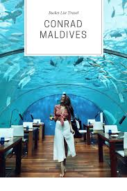 100 Conrad Maldives Underwater Expectations Exceeded Clutch Carryon