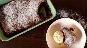 warmer brownie mit vanilleeis der grazer achtnull