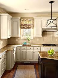 Off White Kitchen Cabinets F With Dark Floors Granite