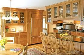 kitchen cabinets traditional light wood shaker cherry peninsula