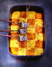 cuisiner le potimarron en l馮ume purées de pommes de terre et potimarron au gingembre pour 6
