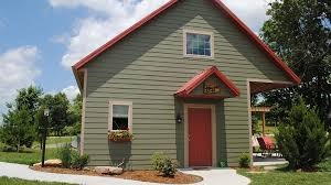 Santa s Cottages near Holiday World in Santa Claus Indiana