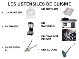 ustensile de cuisine en anglais learn about cuisine and food sle