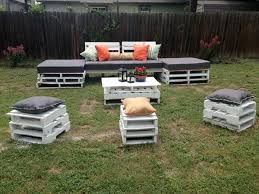 Plans For Pallet Patio Furniture by Diy Pallet Outdoor Seating Furniture 101 Pallets