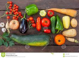 100 Fresh Home And Garden Colourful Variety Of Grown Vegetables Stock Image