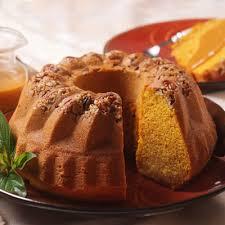 Libbys Pumpkin Muffins Cake Mix by Pumpkin Pecan Bundt Cake With Spiced Caramel Sauce Nestlé Very