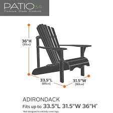 Premium Adirondack Chair Cover - Sand Outdoor Chairs Toddler Adirondack Chair Modern Amazon Plans Cushions Covers Willow Eucalyptus Oak Heavyduty Cover Impressive Lowes Your Hrh Designs Reviews Wayfair Hrh Vailge Patio Heavy Duty Waterproof Lawn Fniture Standard 1 Packbeige Best Back To For Home The Amazing Of Seat House Remodel Making Black